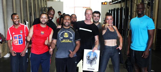 Beveiligingsloket & Broga® : Yogasessie voor Beveiligers verzorgd door Yogaground.